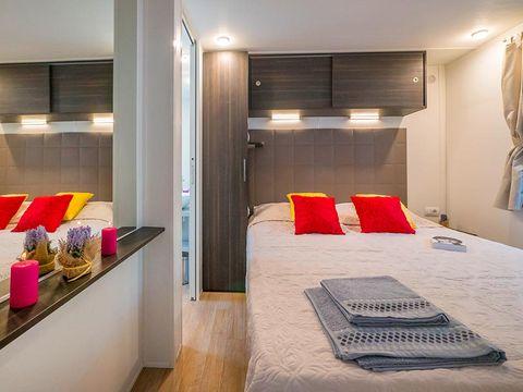 MOBILHOME 6 personnes - M63D - Mobile home 3 chambre climatisé, lave-vaisselle