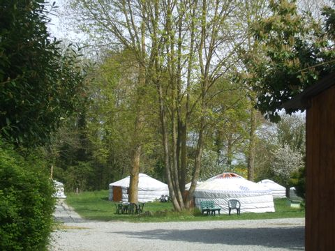 Camping Le Village de Yourtes - Camping Côtes-d'Armor - Image N°6