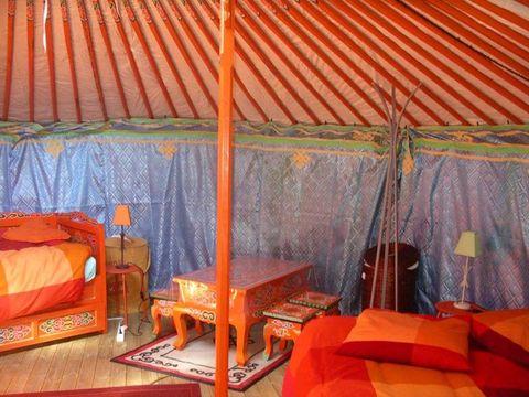 Camping Le Village de Yourtes - Camping Côtes-d'Armor - Image N°5