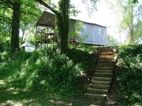 BUNGALOW 4 personnes - Cabane Lodge sur pilotis 2 chambres