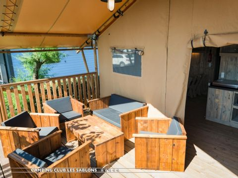 MOBILHOME 8 personnes - COTTAGE VIP