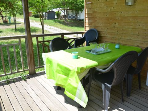 MOBILHOME 6 personnes -  Confort +