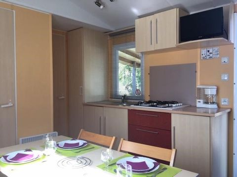 MOBILHOME 4 personnes - CONFORT, 2 chambres