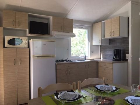 MOBILHOME 6 personnes - CONFORT, 3 chambres