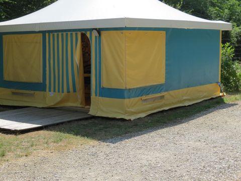 BUNGALOW TOILÉ 6 personnes - FAMILY  (sans sanitaires)