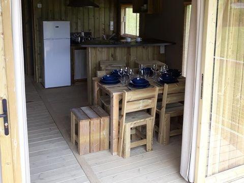 HÉBERGEMENT INSOLITE 6 personnes - Lodge