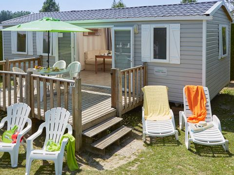 MOBILHOME 8 personnes - Comfort - 3 chambres