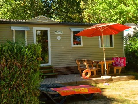 MOBILHOME 6 personnes - GRAND CAUSSE