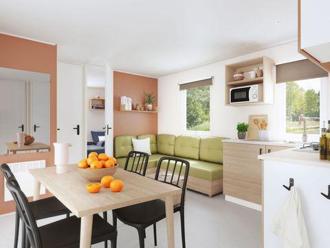 MOBILHOME 6 personnes - Mobil Home Premium 3 chambres