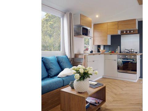 MOBILHOME 6 personnes - Elégance 2 chambres + climatisation