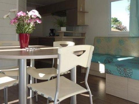 MOBILHOME 5 personnes - GRAND CONFORT (2 chambres avec terrasse)