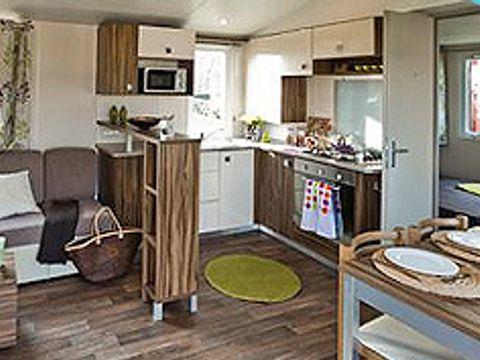 MOBILHOME 8 personnes - AVENTURA, 3 chambres et 2 salles de bain