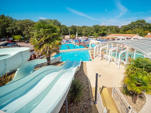 Camping Domaine Les Charmilles - Camping Paradis  - Camping Charente-Maritime