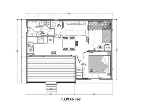 CHALET 5 personnes - Confort 32-2 plus