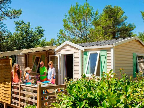 MOBILHOME 4 personnes - COSY, 2 chambres (I4P2)