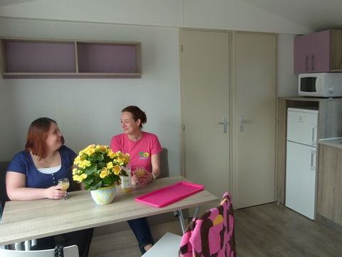 MOBILHOME 7 personnes - Cosy 3 Ch. 6/7 Pers.