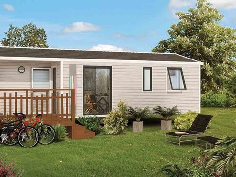 MOBILHOME 7 personnes - Cosy Clim. 3 Ch. 6/7 Pers.