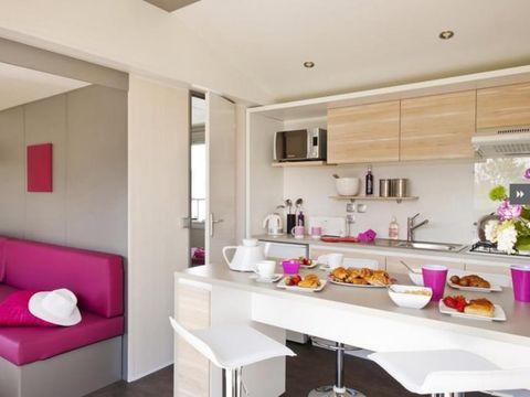 MOBILHOME 6 personnes - Cottage Premium TV