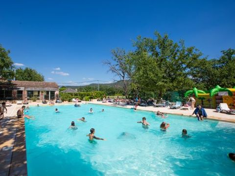 Vaucluse  Camping Domaine des Chenes Blancs - Camping Vaucluse - Afbeelding N°3