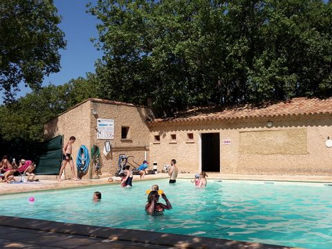 Camping Domaine des Chenes Blancs - Camping Vaucluse - Image N°23