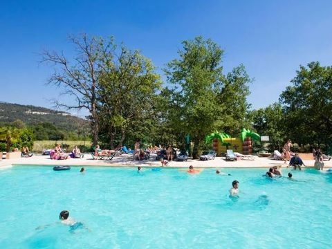 Vaucluse  Camping Domaine des Chenes Blancs - Camping Vaucluse - Afbeelding N°4