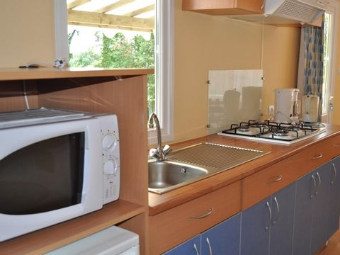 MOBILHOME 4 personnes - COTTAGE - 2 chambres