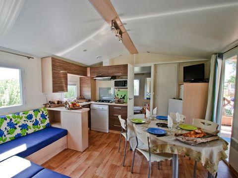"""MOBILHOME 6 personnes - Cottage Confort """"Méditerranée"""""""
