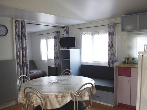 MOBILHOME 6 personnes - SPACIEUX