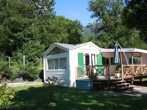 MOBILHOME 4 personnes - SPACIEUX