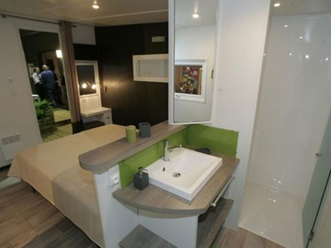 MOBILHOME 5 personnes - TAOS VIP F5 - 2 chambres