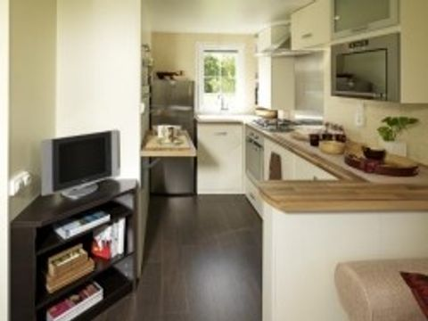 MOBILHOME 4 personnes - STANDING RESIDENTIEL SUMBA - 2 chambres