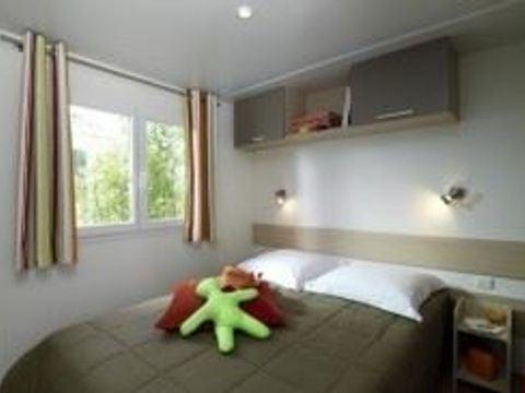 MOBILHOME 4 personnes - PRIVILEGE SAVANAH -  2 chambres
