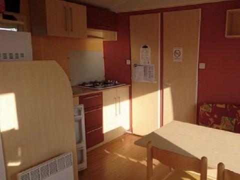 MOBILHOME 6 personnes - 3 chambres - Arrivée le samedi