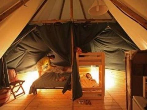 BUNGALOW TOILÉ 5 personnes - Tente Lodge Sans sanitaire - Arrivée le samedi