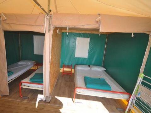 BUNGALOW TOILÉ 4 personnes - BENGALI (Sans sanitaires)