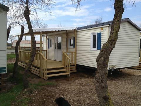 MOBILHOME 6 personnes - 2 chambres, 27m2