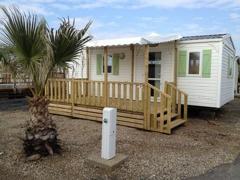 MOBILHOME 4 personnes - 2 chambres, 23m2