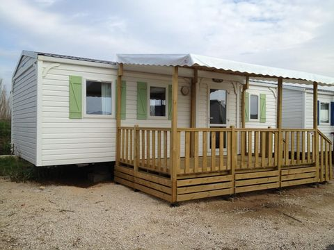 MOBILHOME 6 personnes - 3 chambres, LUXE, 34m2