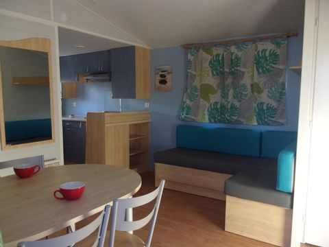 MOBILHOME 5 personnes - TWINNY 2 chambres