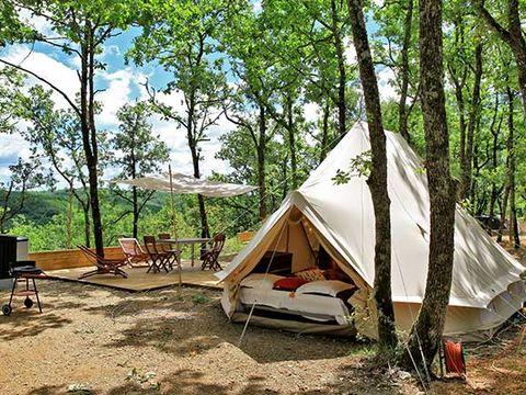 TENTE 4 personnes - Glamping - 2 tentes sur emplacement - sans sanitaires