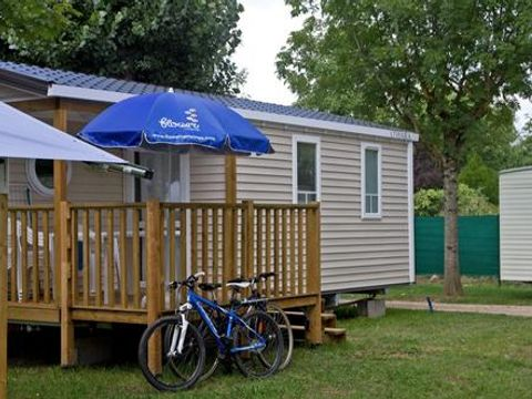 MOBILHOME 7 personnes - CONFORT +