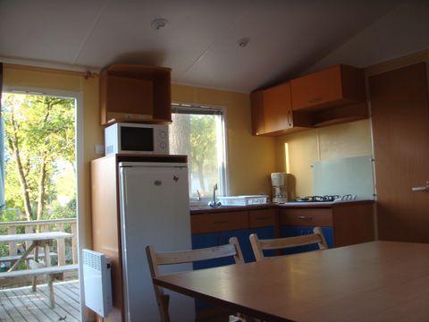 MOBILHOME 8 personnes - Mobil-home CONFORT+ 3 chambres & Terrasse découverte - 34 m²