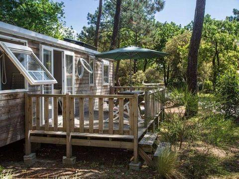 MOBILHOME 8 personnes - PREMIUM+ 3 chambres 2 salles de bain & Terrasse découverte 38 m²