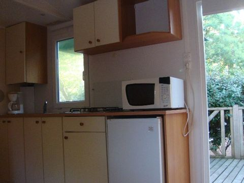 MOBILHOME 5 personnes - 4/5 places 2 chambres 32m²