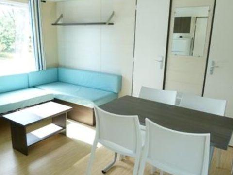 MOBILHOME 5 personnes - 4/5 places 2 chambres 32m²  + 2 salles de bains