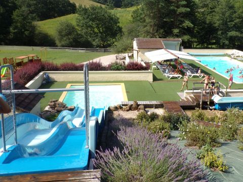 Camping Les Trois Sources - Camping Lot