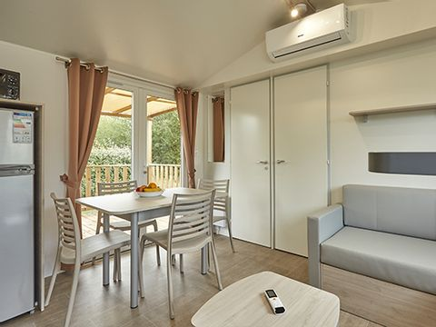 MOBILHOME 6 personnes - COSY CLIMATISE (I63C)