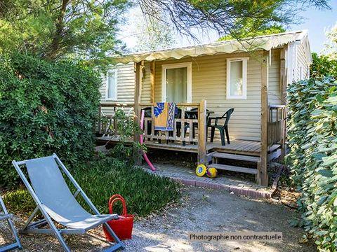 MOBILHOME 6 personnes - Confort terrasse semi-couverte (C7T)