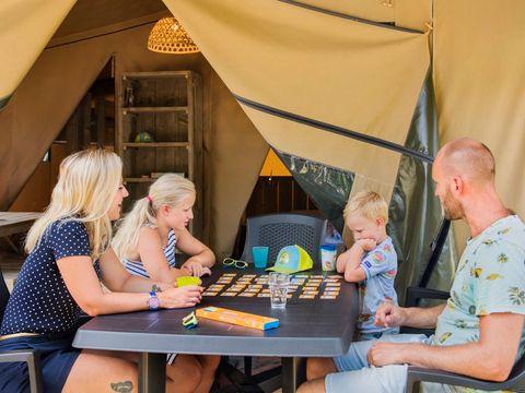 BUNGALOW TOILÉ 6 personnes - Tente Safari Bulot, sans sanitaires
