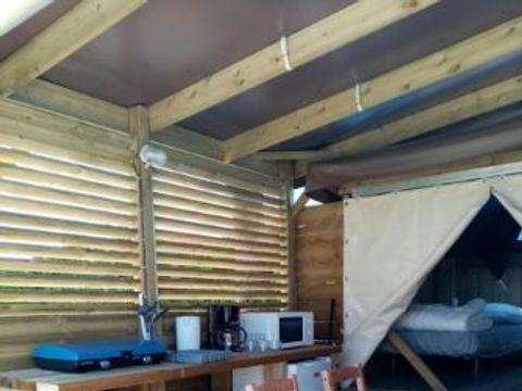 BUNGALOW 4 personnes - Lodge COP'CAMP - 2 chambres (sans sanitaires)